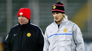 Alex Ferguson David Beckham