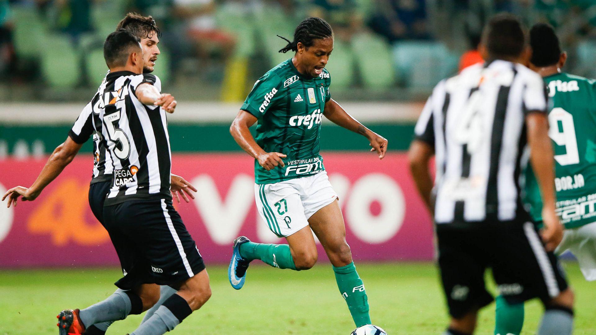 Keno Palmeiras Botafogo Brasileirao Serie A 27112017