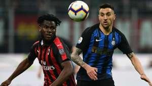 Vecino Kessie Milan Inter Serie A