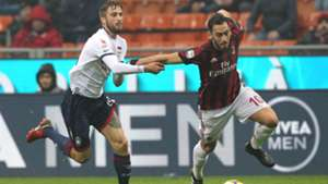 Hakan Calhanoglu Milan Crotone Serie A