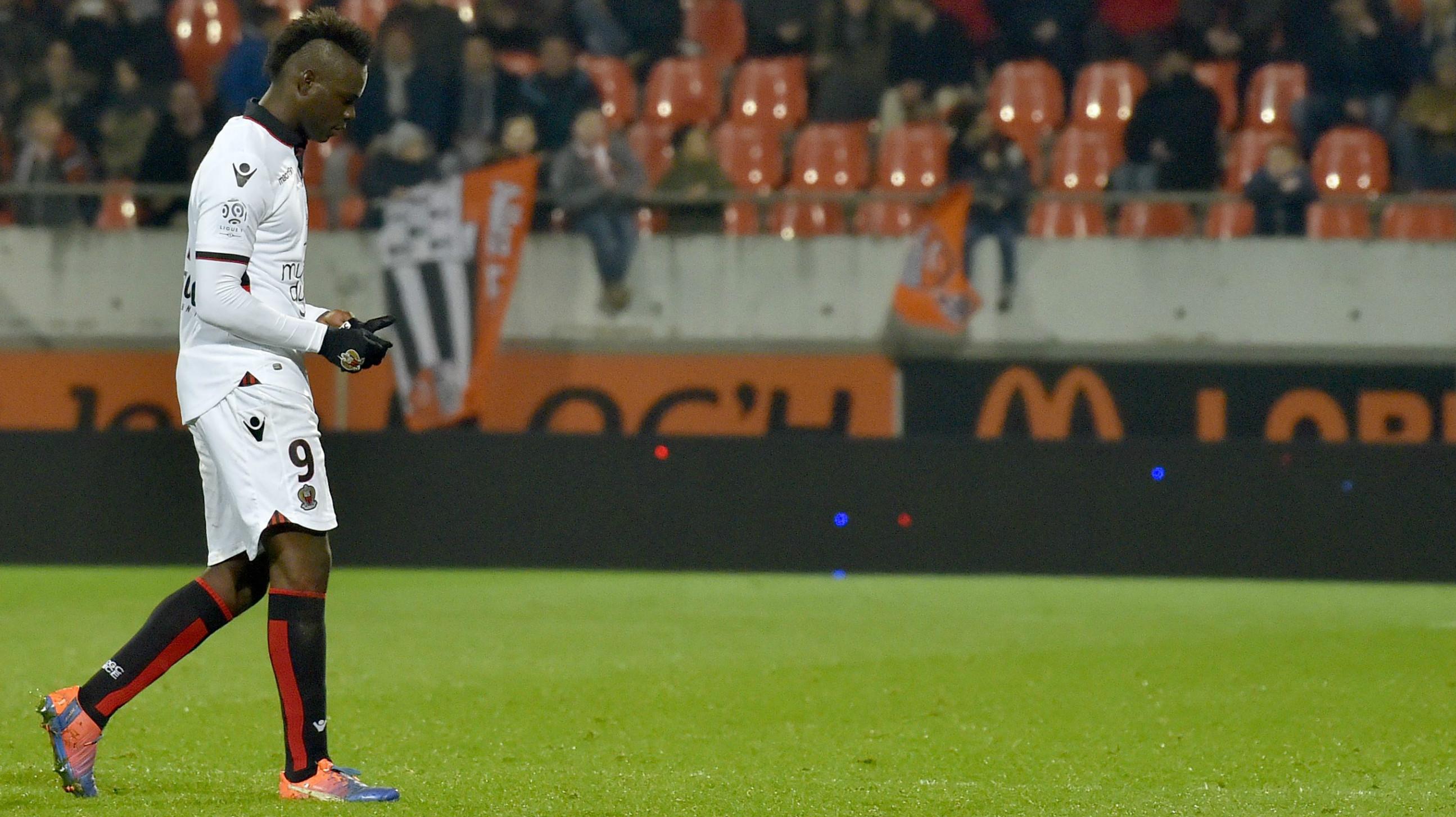 Mario Balotelli Nice Lorient