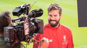 Alisson Liverpool exclusive