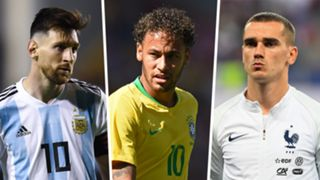 Messi, Neymar, Griezmann