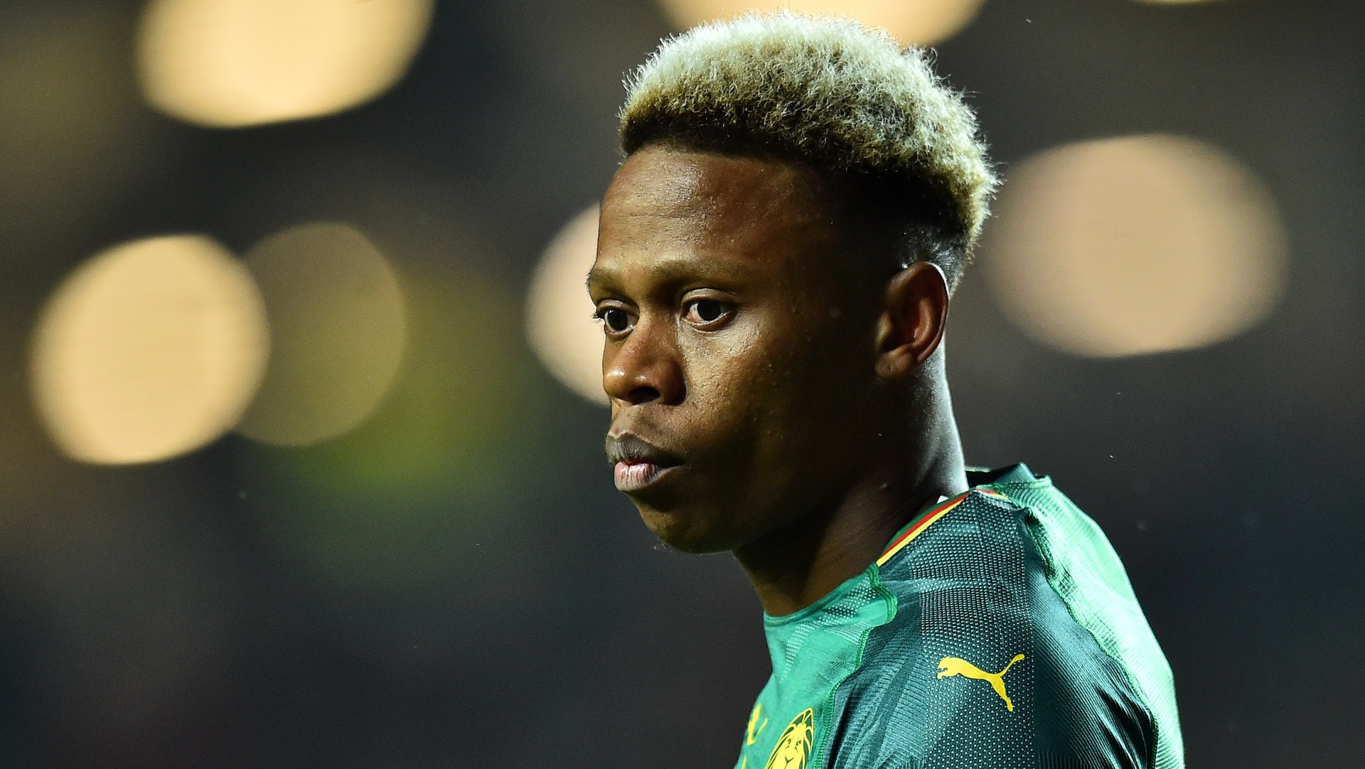 Clinton N'Jie of Cameroon