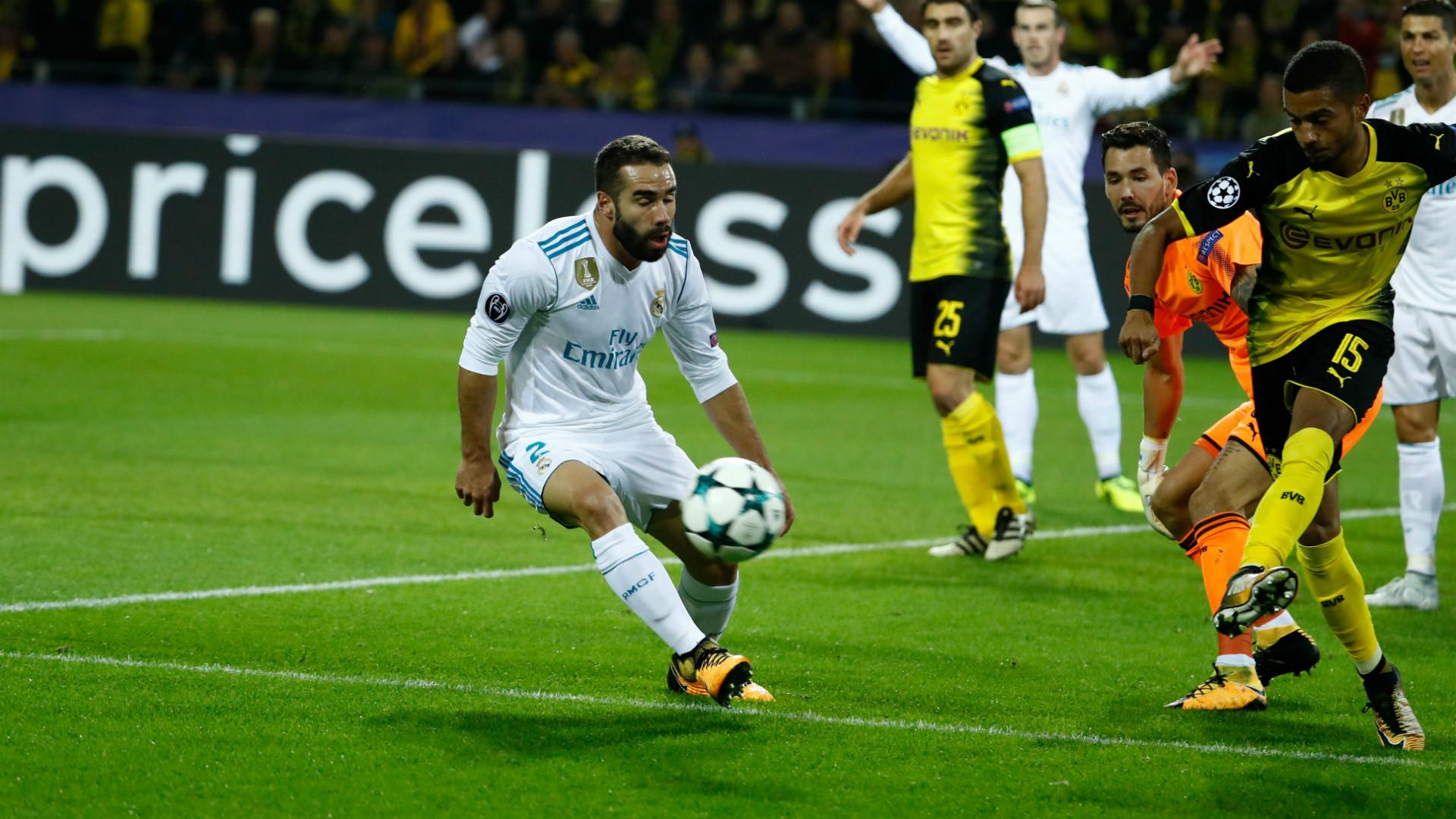 Carvajal Borussia Dortmund Real Madrid Champions League