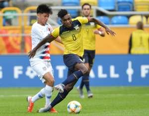 Cifuentes Ecuador U20 2019