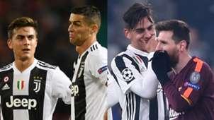 Dybala Messi Cristiano