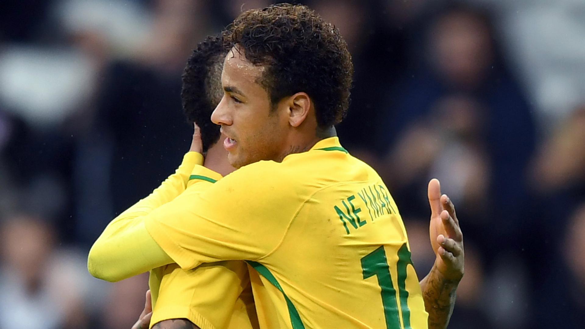 Neymar Gabriel Jesus I Brasil Japão I 10 11 17