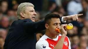 Arsene Wenger Alexis Sanchez Arsenal
