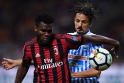 Frank Kessiè Felipe Milan Spal Serie A
