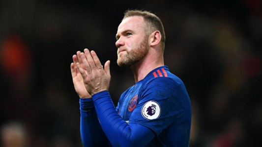 Wayne Rooney Premier League Stoke v Man Utd 210117