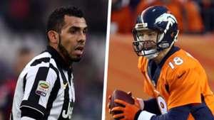 Carlos Tevez Peyton Manning