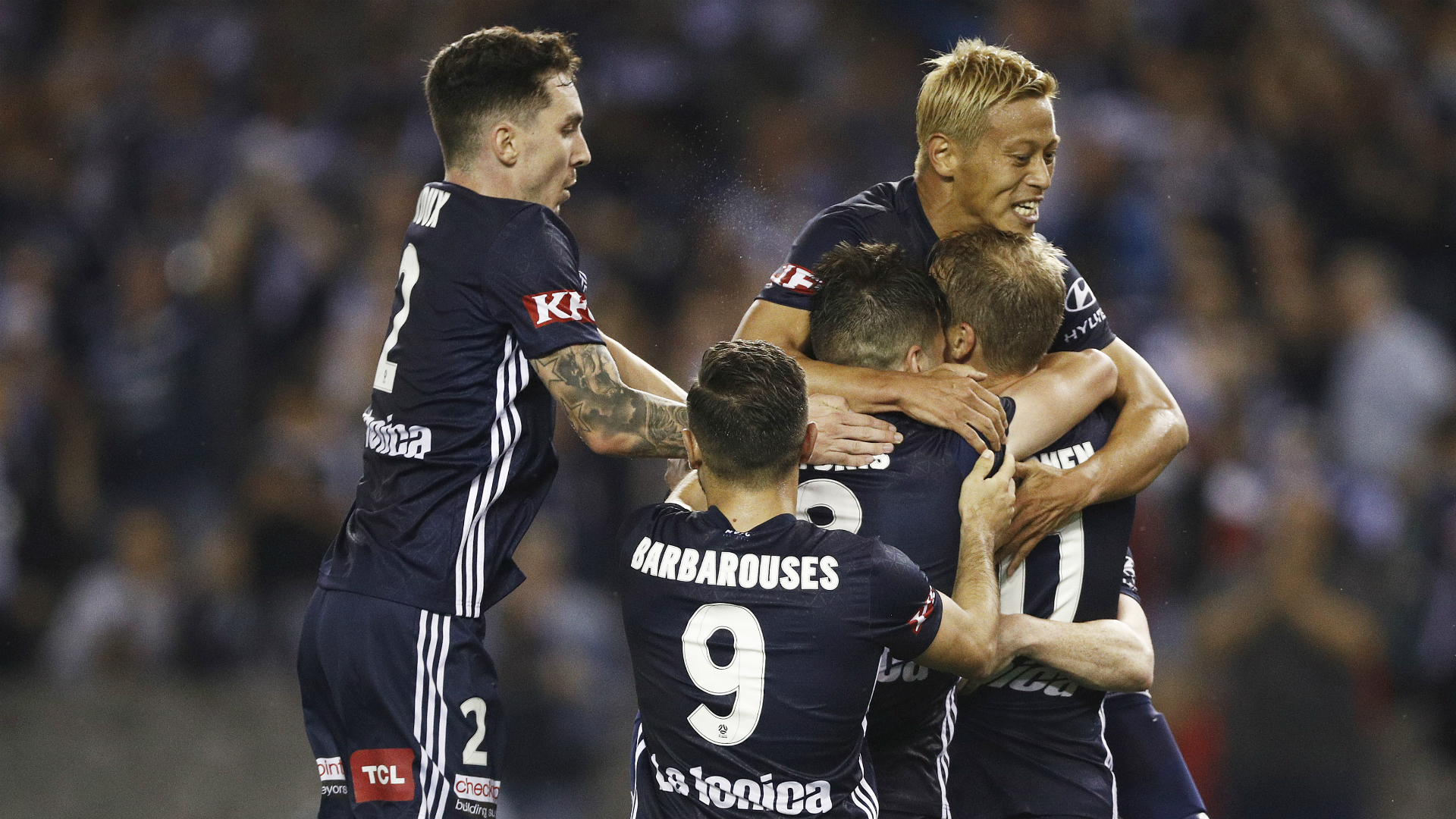 Victory power past Adelaide United