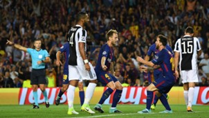 Lionel Messi, Ivan Rakitic, Barcelona - Juventus, Champions League, 09122017