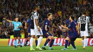 Lionel Messi, Ivan Rakitic, Barcelona - Juventus, Champions League, 09122017