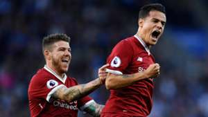Philippe Coutinho Liverpool Leicester