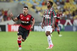 Miguel Trauco Flamengo x Fluminense 18032017