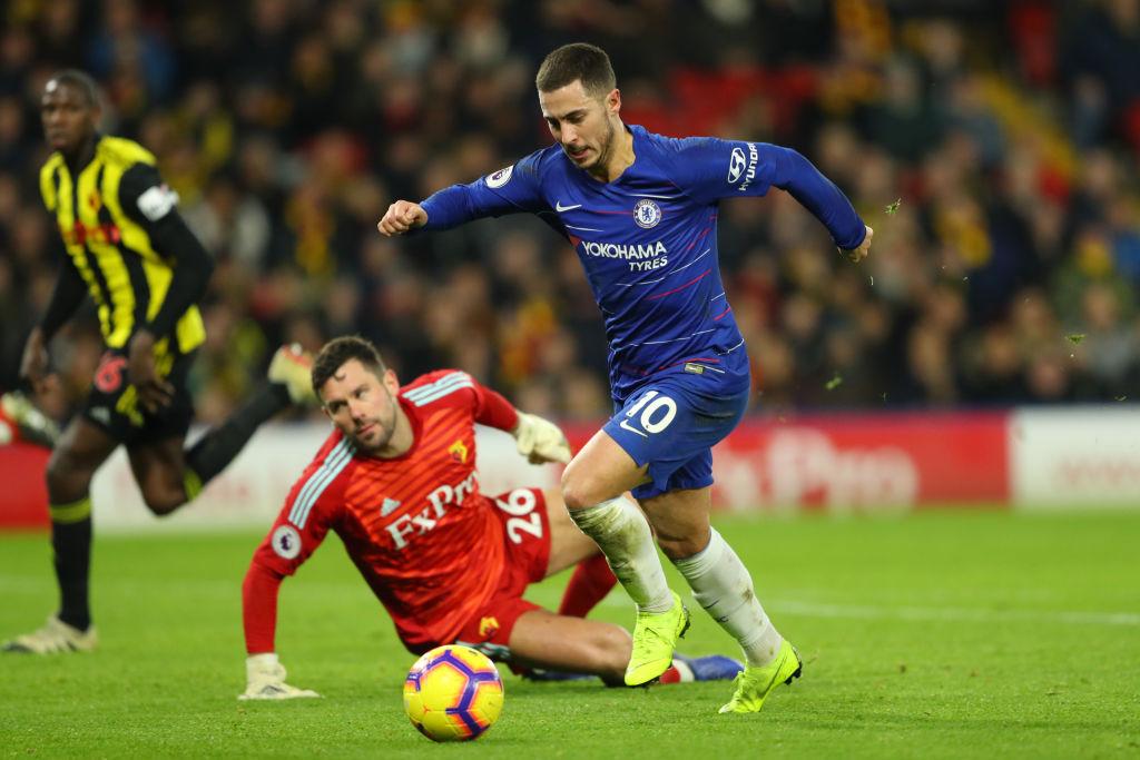 Eden Hazard Watford Chelsea Premier League 261218