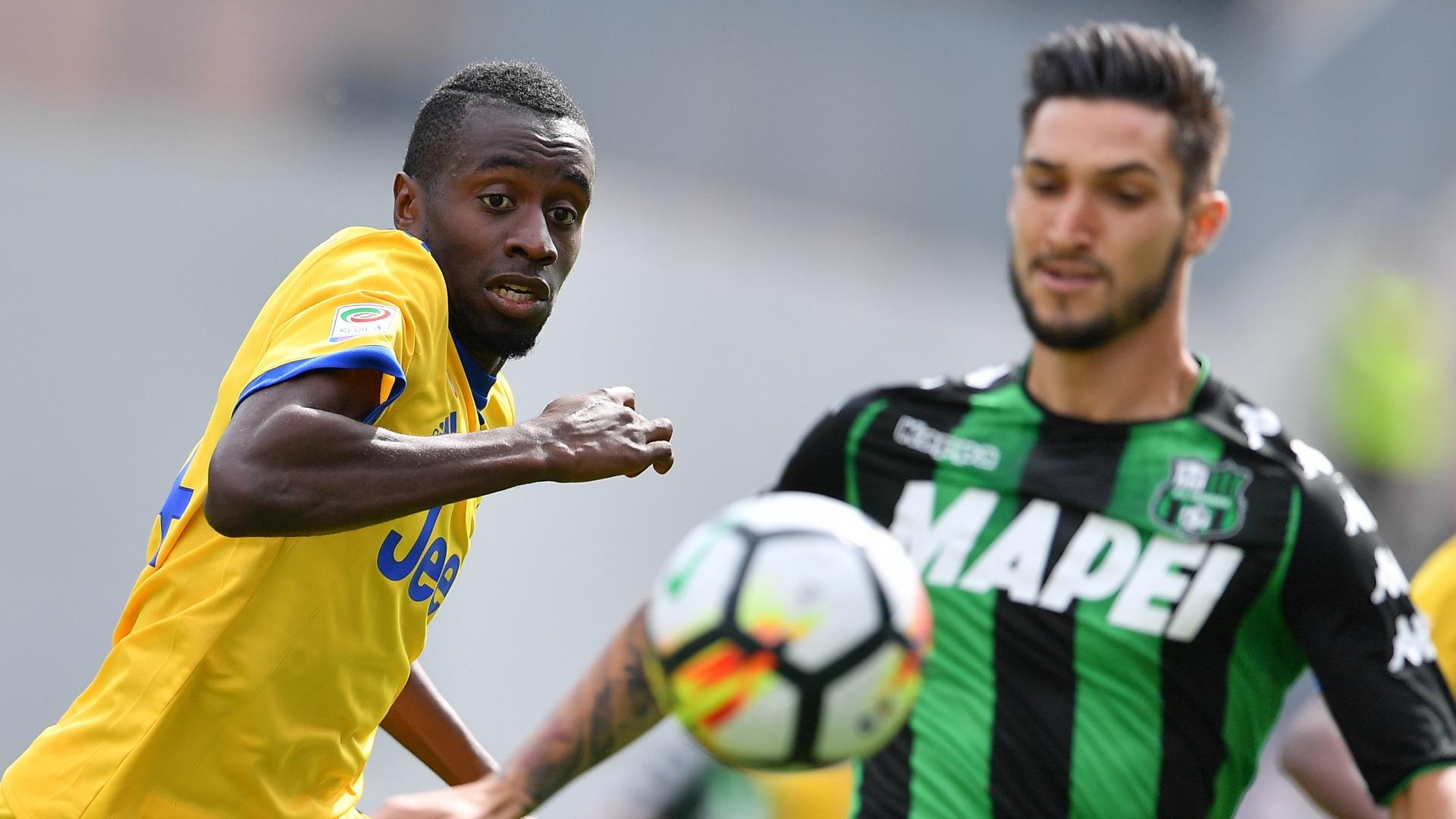 Blaise Matuidi Matteo Politano Sassuolo Juventus Serie A