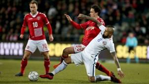 Arturo Vidal. Dinamarca Chile 27032018