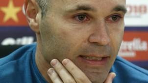 Andres Iniesta Barcelona farewell