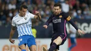 Luis Hernandez Lionel Messi Malaga Barcelona La Liga