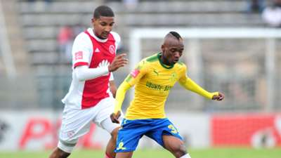 Morne Nel, Ajax Cape Town & Khama Billiat, Mamelodi Sundowns, April 2018