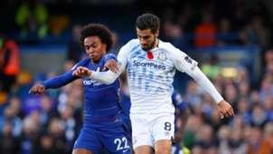 Willian Andre Gomes Chelsea Everton 11112018