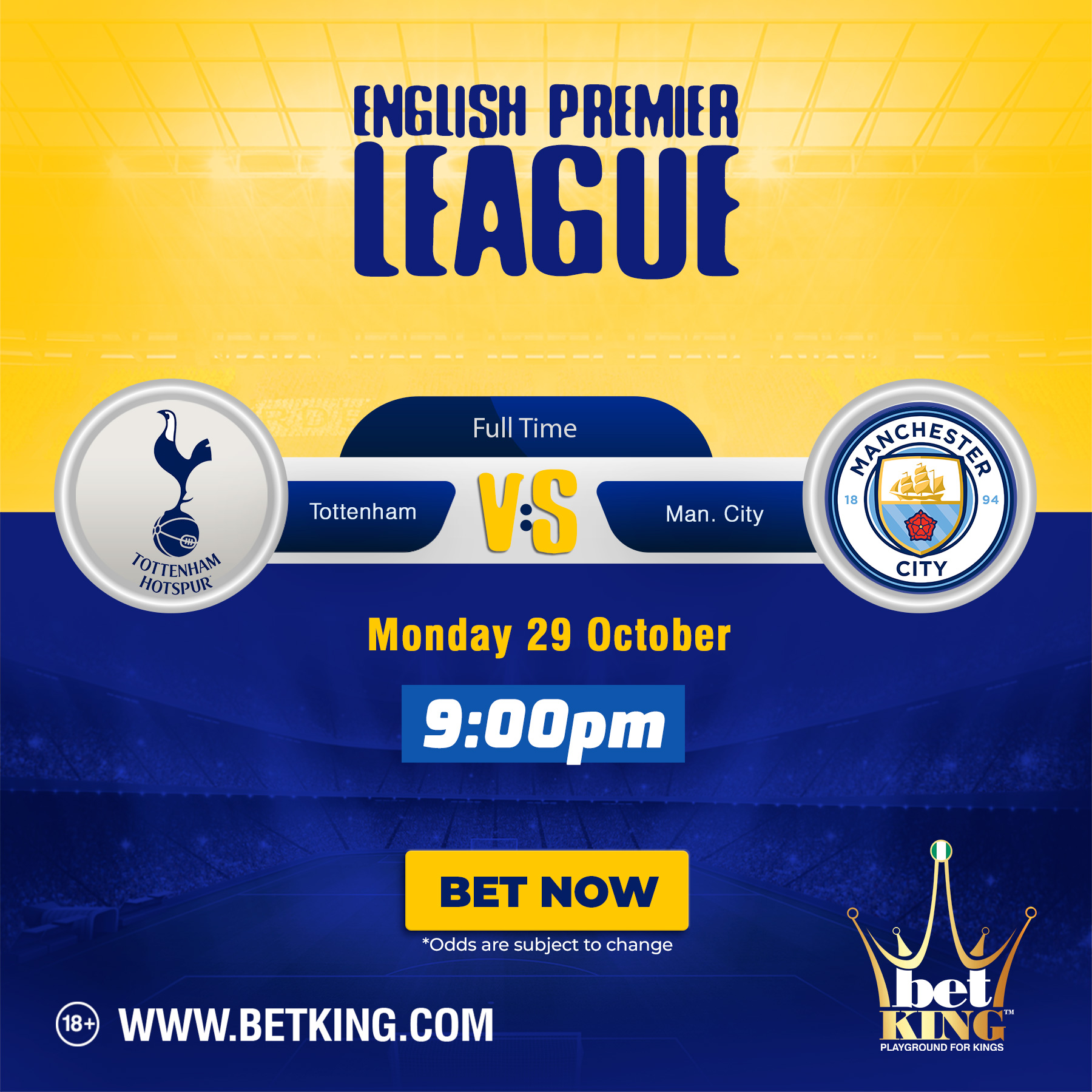 Betking city spurs