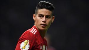 James Rodriguez Bayern München 18052018