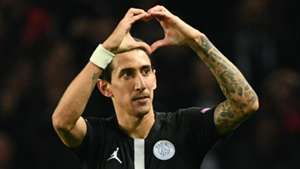 Angel Di Maria PSG Napoli UEFA Champions League 24102018