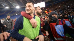 Daniele De Rossi Francesco Totti Roma