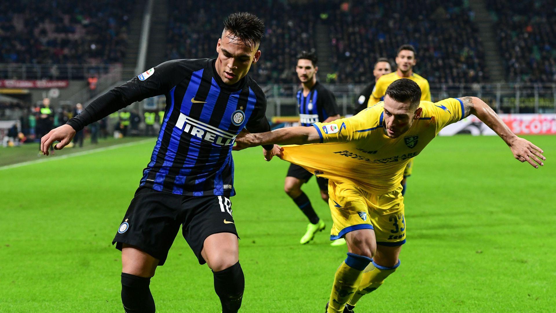 Lautaro Martinez Inter Frosinone Serie A