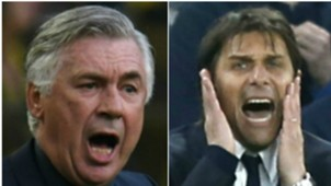 Ancelotti Conte collage