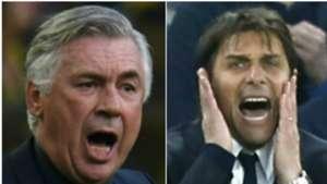 Ancelotti Conte collage