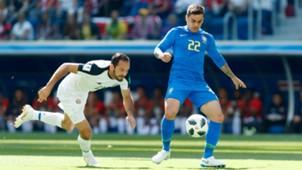Fagner Brazil vs Costa Rica World Cup 2018