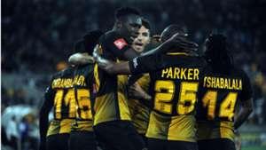 Kaizer Chiefs celebrate Eric Mathoho goal