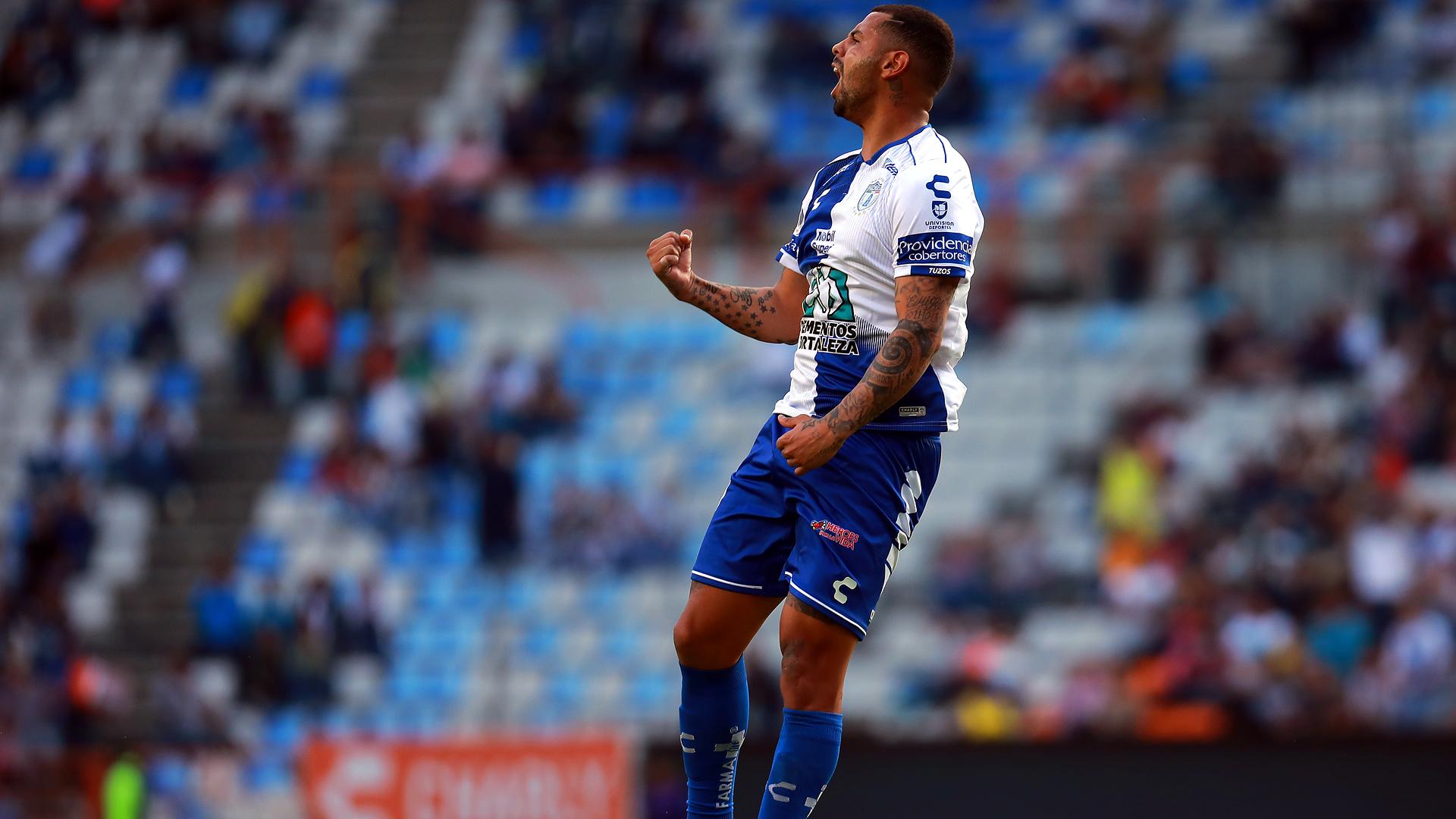 Edwin Cardona Pachuca Liga MX 2019