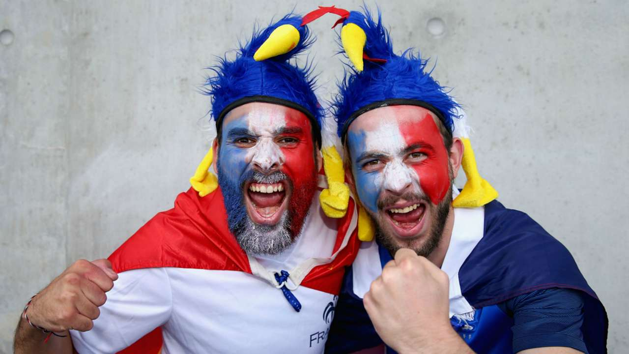 France supporters Euro 2016