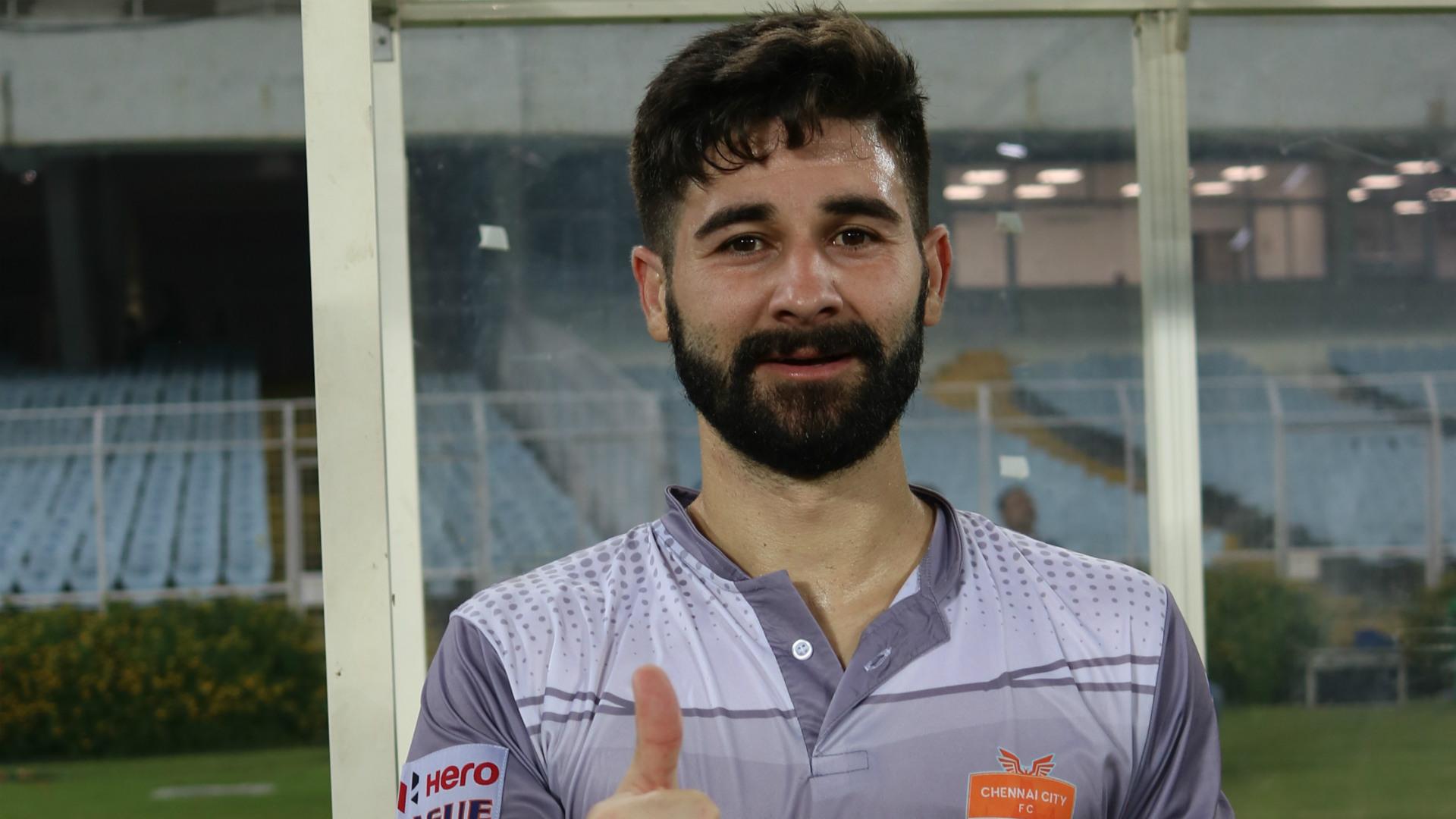 Nestor Gordillo Chennai City FC I-League 2018-19