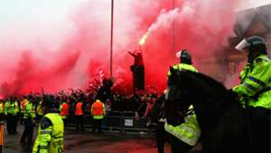 Liverpool Roma fans Anfield