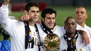 Figo Makelele Hierro Ronaldo Real Madrid 03122002