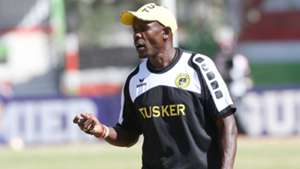 Tusker assistant coach Francis Baraza.