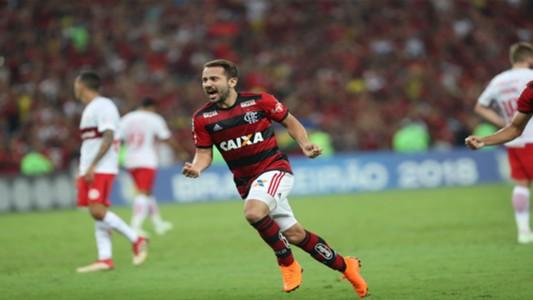 Everton Ribeiro Flamengo x Internaciona