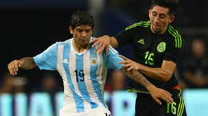 Ever Banega Héctor Herrera Selección argentina Selección mexicana 101018