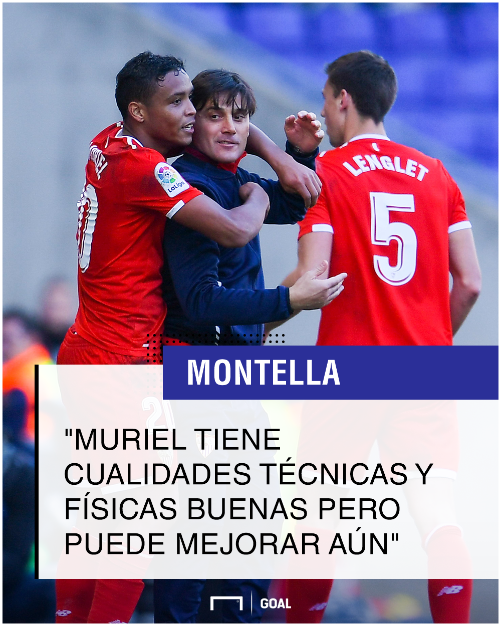 Montella sobre Muriel