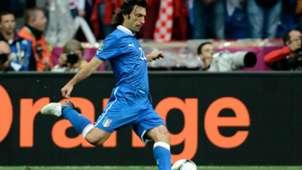 Andrea Pirlo Italy 2012