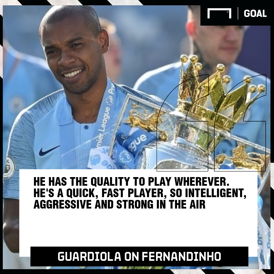 Guardiola on Fernandinho