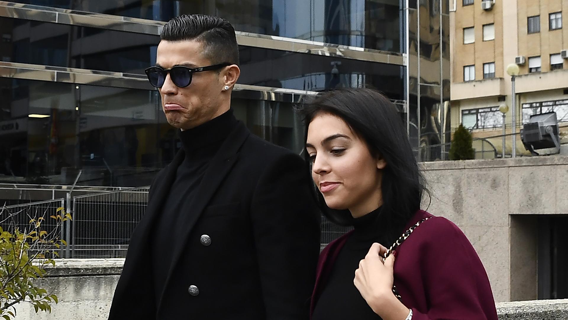 Cristiano Ronaldo Georgina Rodriguez Madrid tax