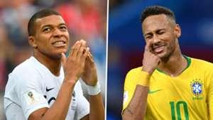 Kylian Mbappe, Neymar Jr.